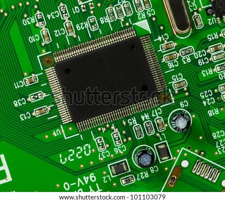 electronics component - stock photo