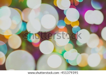 Elegant abstract background with lights and stars  - stock photo