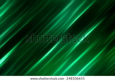 Elegant abstract diagonal green background with lines - stock photo