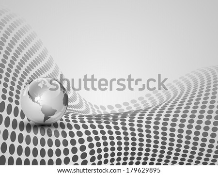 Elegant abstract technology background - stock photo
