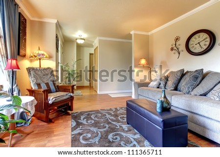 Furnished Master Bedroom New Home Stock Photo 243272530 ...