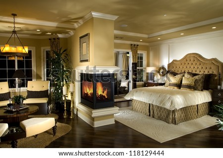 Elegant Bedroom Architecture Stock Images Photos Stock