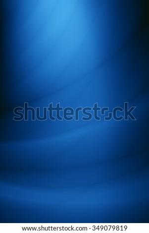 Elegant blue template silk smooth background - stock photo