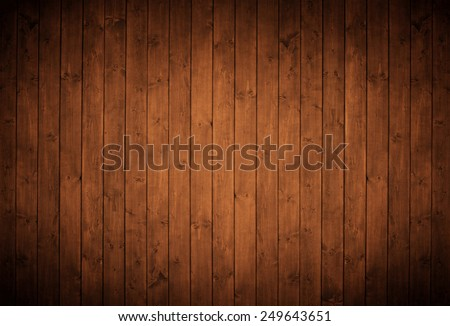 elegant brown wood panels. - stock photo