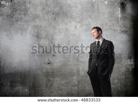 Elegant businessman - stock photo