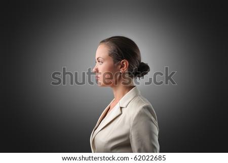 Elegant businesswoman - stock photo