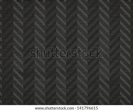 Elegant classic abstract chevron pattern background, grunge canvas texture - stock photo