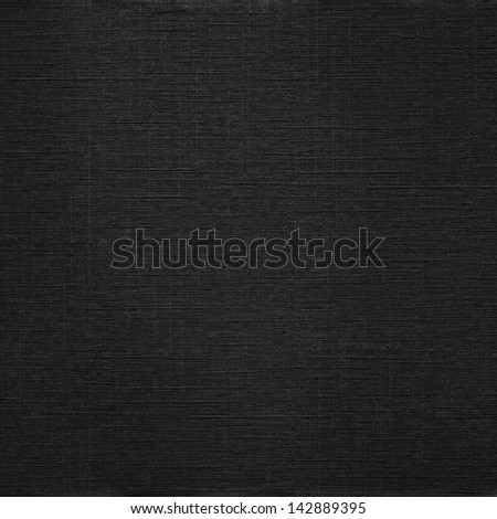 Elegant classic black canvas grunge background - stock photo