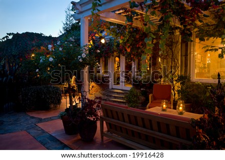 Elegant Evenings - stock photo