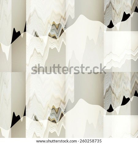 Elegant form abstract design - stock photo
