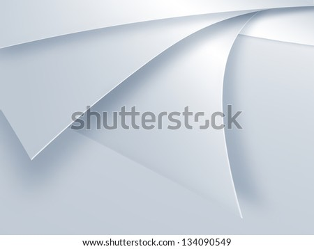 elegant light abstract paper background - stock photo