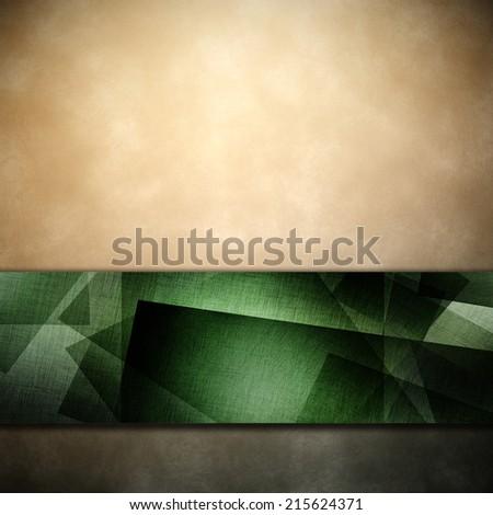 elegant light green paper background - stock photo