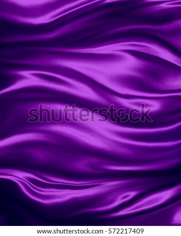 elegant luxury purple background with wavy draped folds of cloth, smooth silk texture with wrinkles and creases in flowing fabric