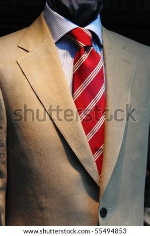 Elegant men suit - stock photo