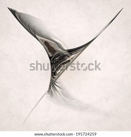elegant movement - stock photo