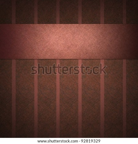 elegant pin stripe background paper illustration in pink maroon and burgundy color with vintage grunge scratch texture with pale ribbon and pattern lines with copy space for ad or announcement - stock photo