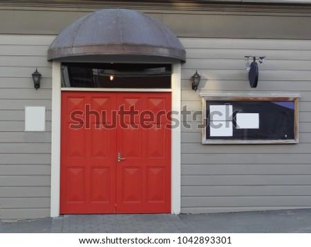 Elegant red door to old weatherboard building Wellington New Zealand & Weatherboard Stock Images Royalty-Free Images \u0026 Vectors ...