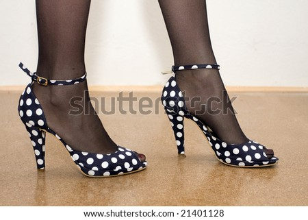 elegant shoes - stock photo