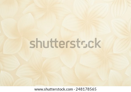 Elegant stylish abstract floral wallpaper. - stock photo