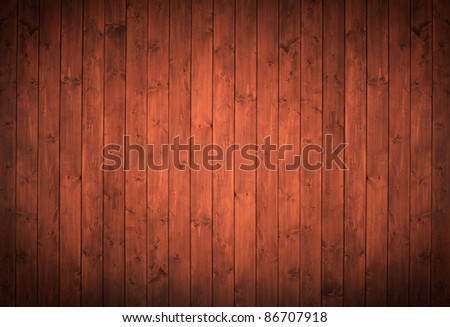 elegant wood panels used as background.