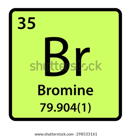 Element bromine periodic table stock illustration 298533161 element bromine of the periodic table urtaz Image collections