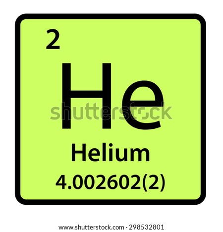 Element helium periodic table stock illustration 298532801 element helium of the periodic table urtaz Choice Image