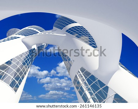 Element of a modern home. - stock photo