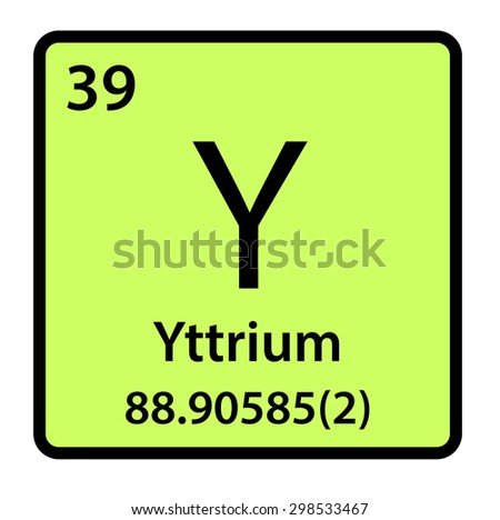 Element yttrium periodic table stock illustration 298533467 element yttrium of the periodic table urtaz Images