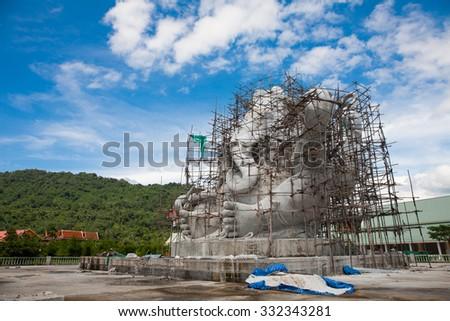 elephant-headed deity H - stock photo