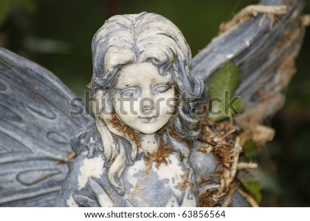 Elf statue - stock photo