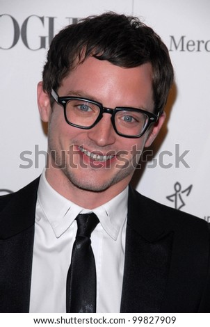 "Elijah Wood at the 2011 Art Of Elysium ""Heaven"" Gala, Annenberg Bldg., California Science Center, Los Angeles, CA. 01-15-11 - stock photo"