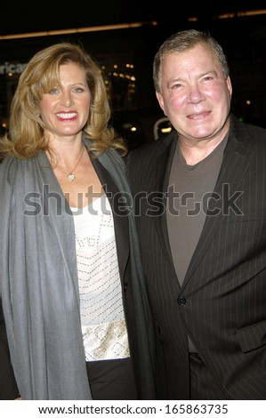 Elizabeth Anderson Martin, William Shatner at MISS CONGENIALITY 2 Premiere, Grauman's Chinese Theatre, Los Angeles, CA, March 23, 2005