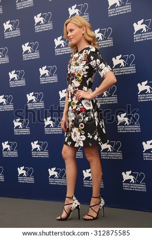 Elizabeth Banks attends the Jury Photocall during the 72nd Venice Film Festival on September 2, 2015 in Venice, Italy. - stock photo
