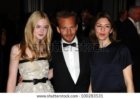 Elle Fanning, Stephen Dorff and Sofia Coppola at the  2nd Annual Academy Governors Awards, Kodak Theater, Hollywood, CA.  11-14-10