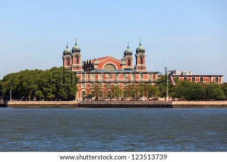 Ellis Island / New York - stock photo