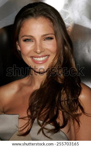 Elsa Pataky attends the Premiere of 'Snakes on a Plane' held at the Grauman's Chinese Theater in Hollywood, California on August 17, 2006.  - stock photo
