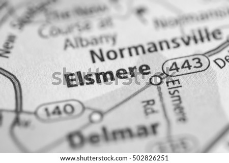 Elsmere. New York (State). USA.