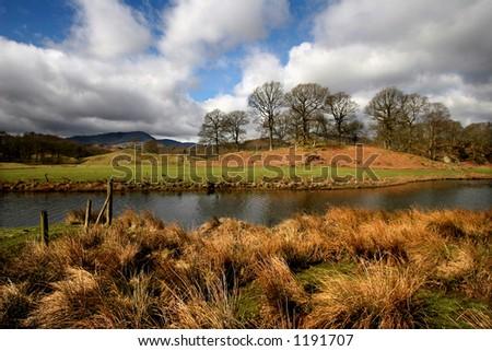 Elterwater, Lake District, England - stock photo
