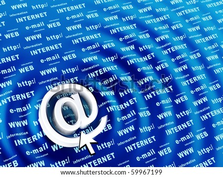 Email - stock photo