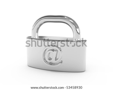 Email security - stock photo