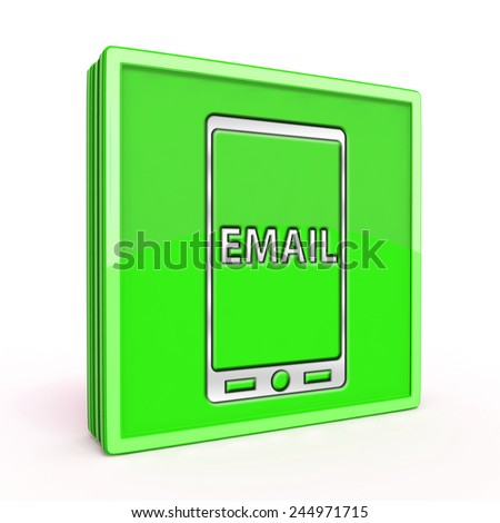 email square icon on white background