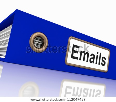 Emails File Shows Contacts and Correspondence