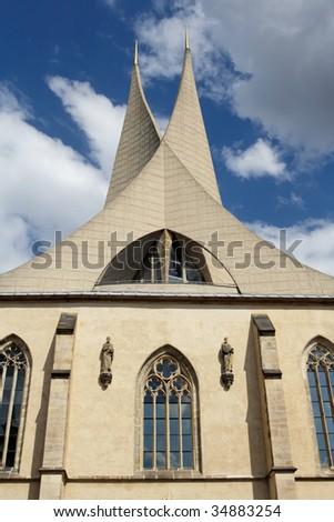 Emauzy church - stock photo