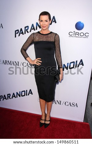 "Embeth Davidtz at the ""Paranoia"" US Premiere, Directors Guild of America, Los Angeles, CA 08-08-13"