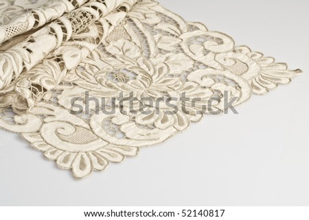 embroidery - stock photo