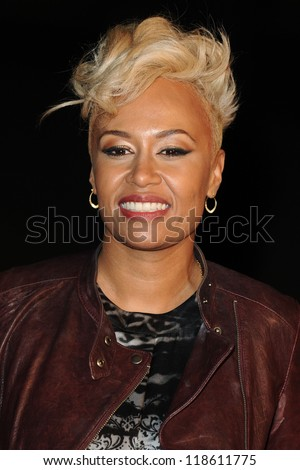"Emeli Sande arriving for the ""Skyfall"" world premiere after party at the Tate Modern, London. 23/10/2012 Picture by: Steve Vas"