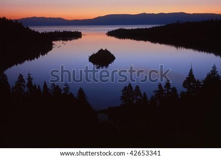 Emerald Bay- Lake Tahoe, Ca - stock photo