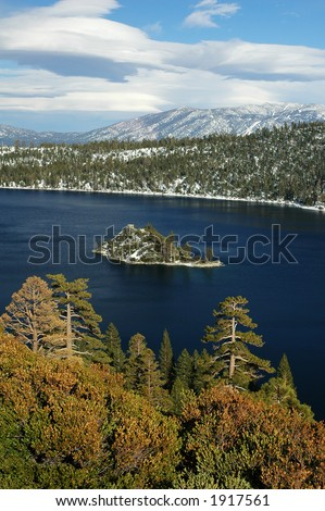Emerald Bay, Lake Tahoe, California - stock photo