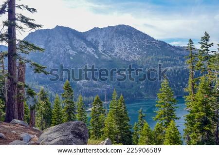 Emerald Bay, Lake Tahoe, California. - stock photo