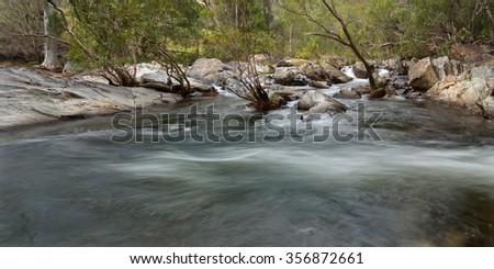 Emerald Creek, near Mareeba, Queensland, Australia - stock photo